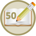 Wrote 50 Book Reviews