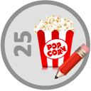 Wrote 25 Movie Reviews