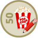 Wrote 50 Movie Reviews
