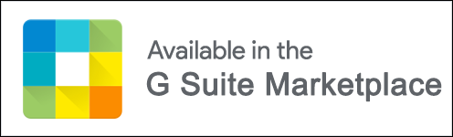 Available in the G Suite Marketplace